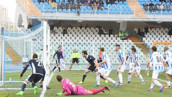 Pescara-Lazio 2-6, repubblica.it