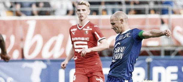 El Troyes se estrenó con empate a 1 ante el Rennes. | Foto: (ligue1.com)
