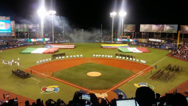 Inauguración en el Estadio de los Charros (Foto: Alejandro Nava/VAVEL)