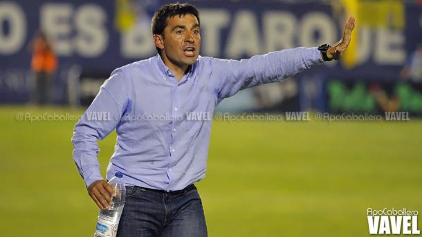 Asier Garitano en sus comienzos | Foto: Apo Caballero (VAVEL)