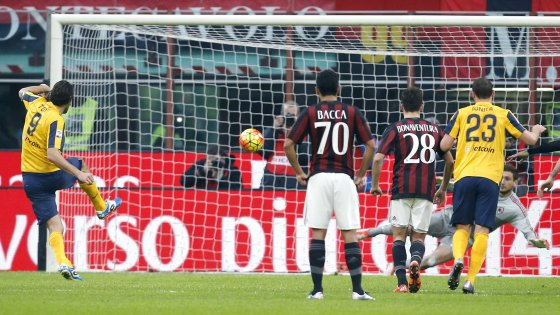 Milan Hellas Verona 1-1, repubblica.it