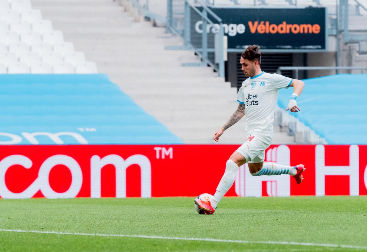 Lirola foi destaque na vitória do OM com dois gols marcados | Divulgação/OM