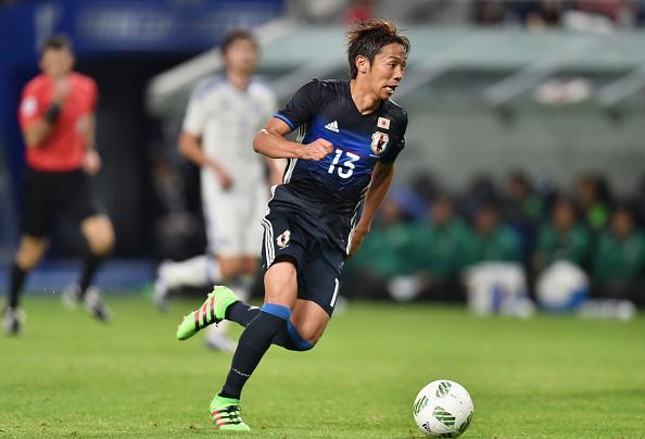 Kiyotake em ação pelo Japão (Foto: Atsushi Tomura/Getty Images)