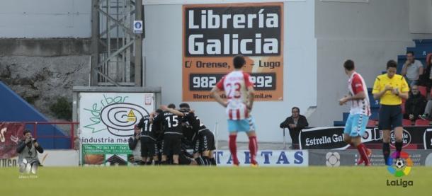 Nàstic segue voando e com chances de acesso direto (Foto: Divulgação/La Liga)