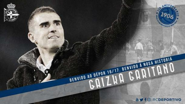 Técnico de 40 anos comandará o Depór na próxima temporada (Foto: Divulgação/Deportivo La Coruña)