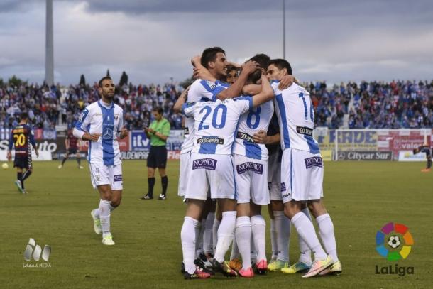 Leganés conseguiu importante triunfo e está uma vitória do acesso direto (Foto: Divulgação/La Liga)