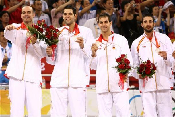 España, medalla de plata en Pekín / feb.es