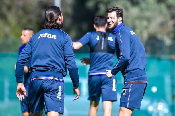 Allenamento Sampdoria - Fonte: sampdoria.it