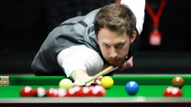 Reigning champion Judd Trump was eliminated by Stuart Bingham on day three. | Photo: Eurosport