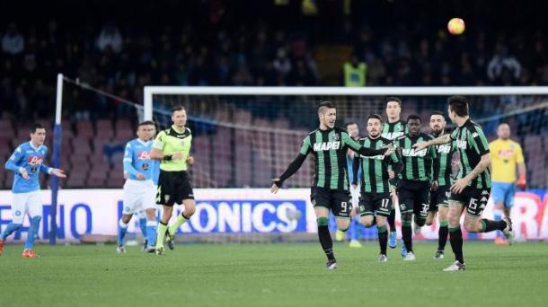 Napoli - Sassuolo 3-1 - corrieredellosport