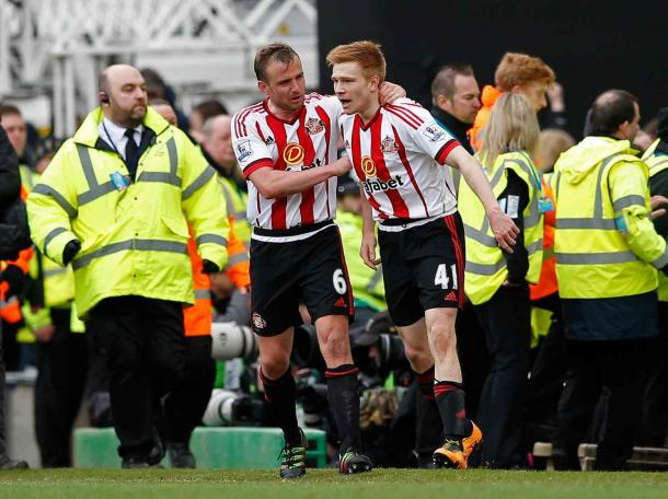 Duncan Watmore scored the third goal of the afternoon (Photo: Alan Walter: Reuters)