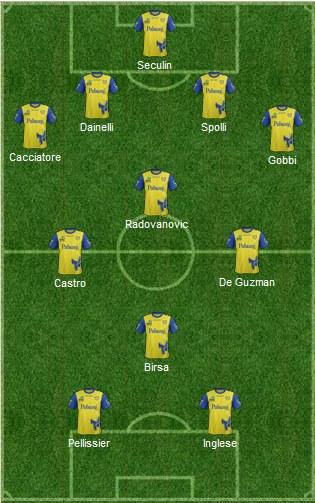 La possibile risposta di Maran, schierata con un 4-3-1-2. | VAVEL.com via footballuser.com