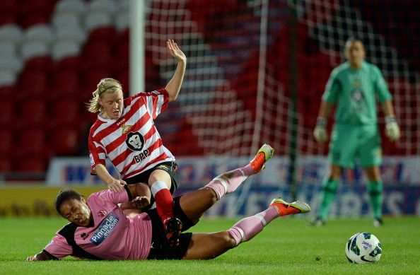 Lauren Cresswell won't be afraid to get stuck in on her Belles return. (Photo: Getty)