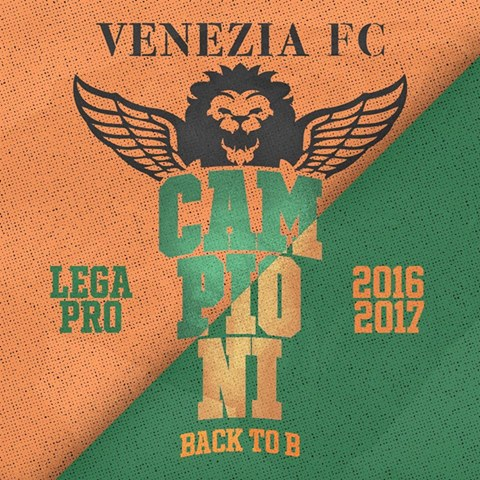 Com derrota do Parma, empate deu o título da Serie C ao Venezia   Foto: Divulgação/Venezia