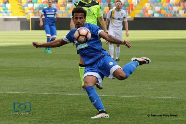 Lucas Evangelista. Fonte: www.facebook.com/UdineseCalcio1896