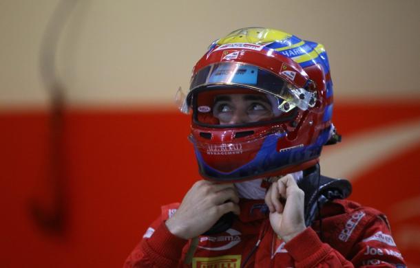 Leclerc en su última carrera en la F2 (Foto: Prema Racing)