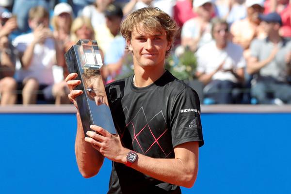 Alexander Zverev defended his title in Munich last week. Photo: Alexander Hassenstein/Getty Images