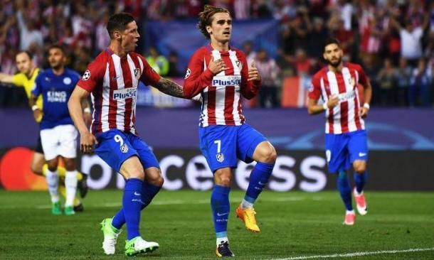 Griezmann festeggia il gol decisivo del match d'andata (1-0). | calciomercato.com