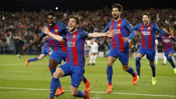 Sempre la scivolata dello spagnolo, che esulta per una rete storica. | eurosport.com