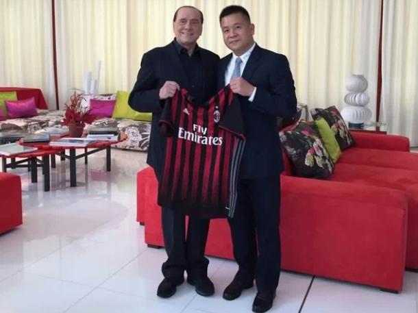 Berlusconi con Li a Villa Certosa. Fonte foto: SpazioMilan
