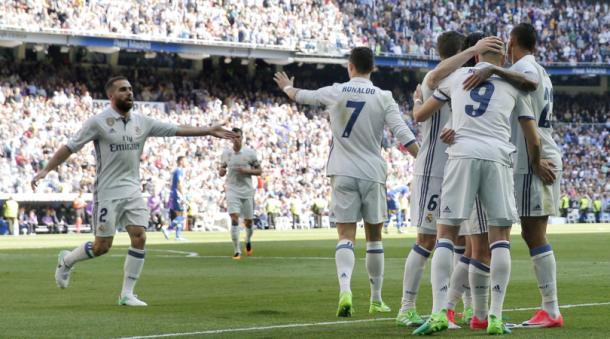 Inizia bene il mese di aprile per il Real Madrid: battuto 3-0 l'Alaves