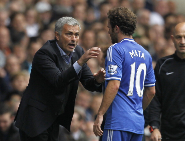 Juan Mata was forced out of Stamford Bridge by Jose Mourinho (photo:getty)