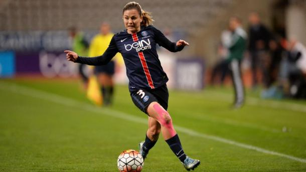 Laure Bolleau is one the few remaining star players at PSG | Source: eurosport.fc