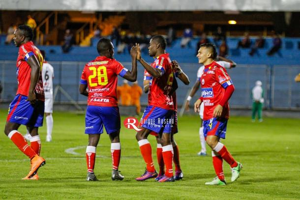 Suspendido el partido entre Deportivo Pasto y Rionegro Águilas