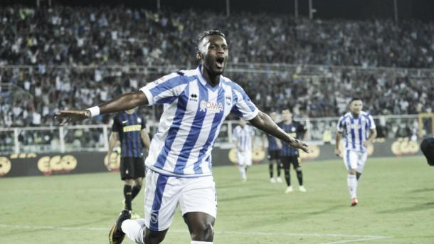 Bahebeck in gol con l'Inter. Si è infortunato ancora contro la Roma dopo essere rientrato | corrieredellosport.it