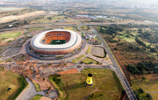El First National Bank Stadium de Johannesburgo | Getty Images