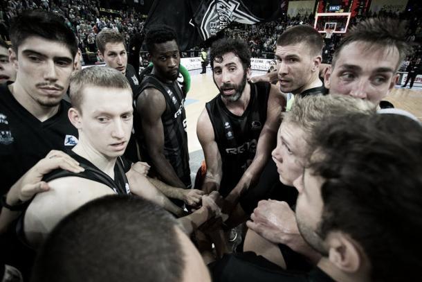El equipo no ha podido cumplir sus objetivos / Foto: A. Arrizabalaga. ACB
