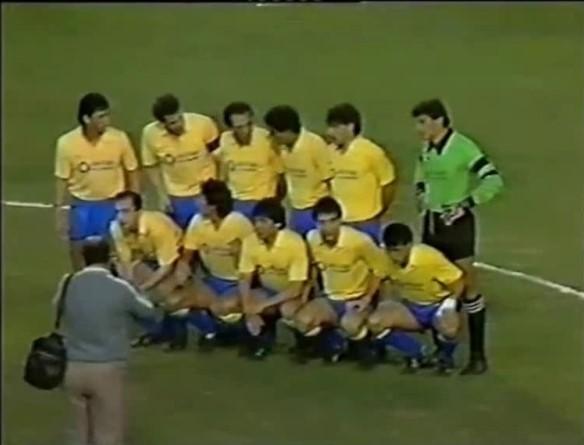 Los once héroes que vencieron al Barça. Foto: forum.rojadirecta.es