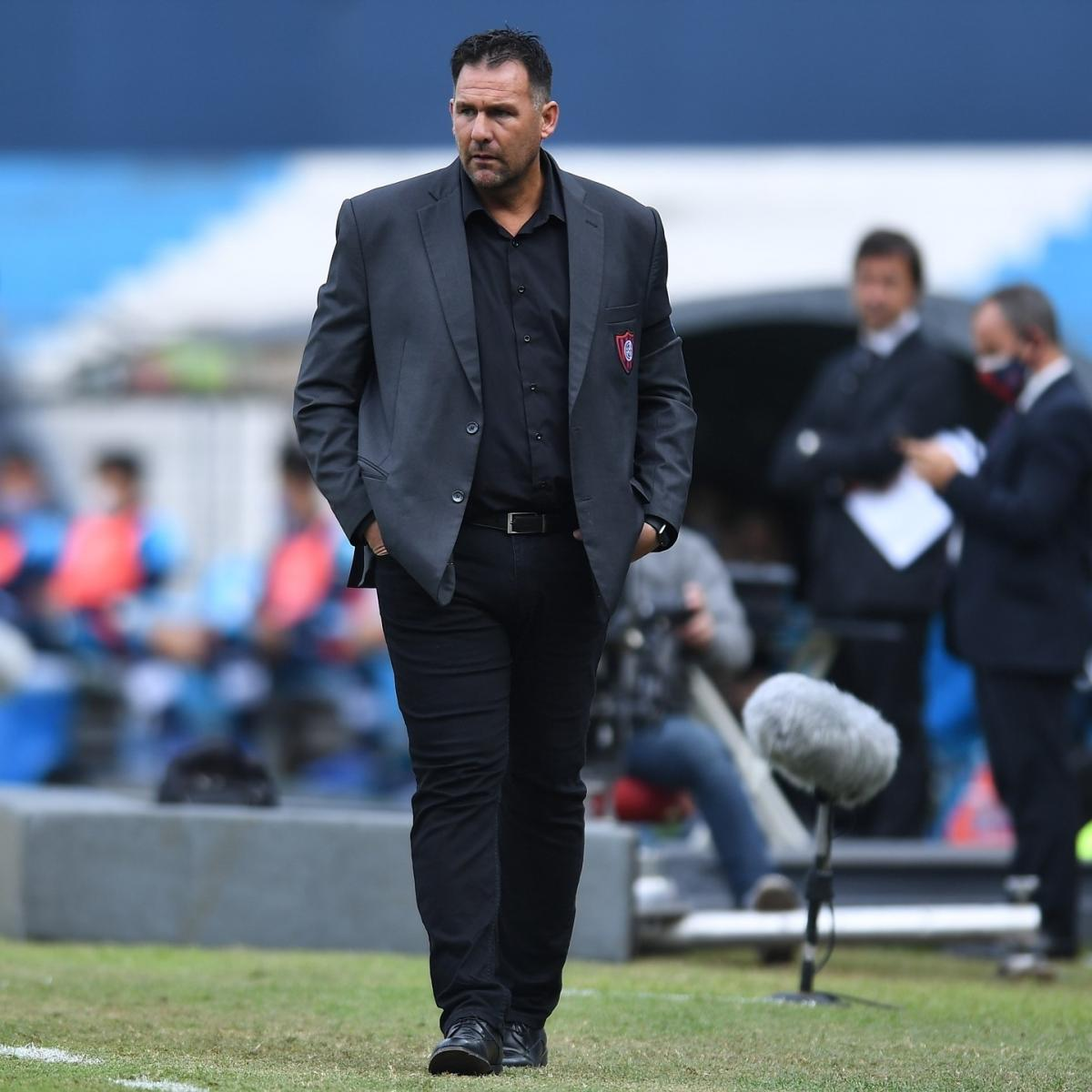 Diego Dabove, novo técnico do Bahia   Divulgação/San Lorenzo