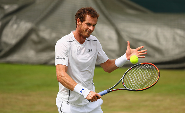 Andy Murray preparing for the defense of his title (Photo: Clive Brunskill/Getty Images)
