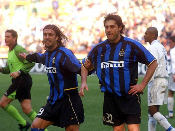 Batistuta con la camiseta del Inter / Foto: Inter