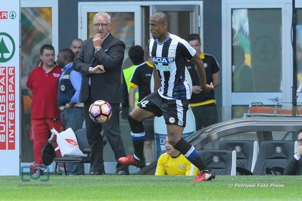 Gabriel Silva, la sorpresa. Fonte: https://www.facebook.com/UdineseCalcio1896/?fref=ts
