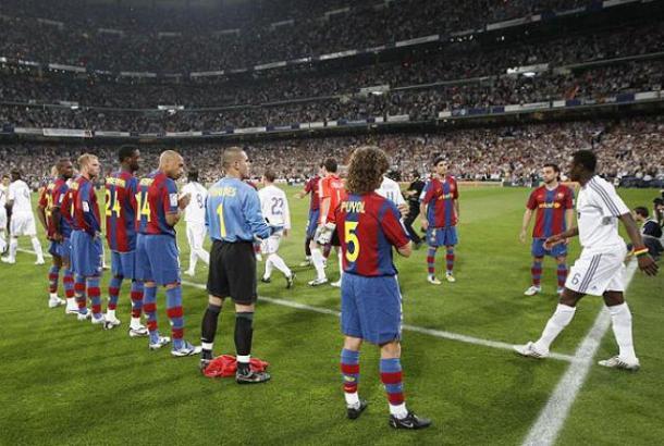 Paseillo del F.C Barcelona al Real Madrid | Foto: Real Madrid