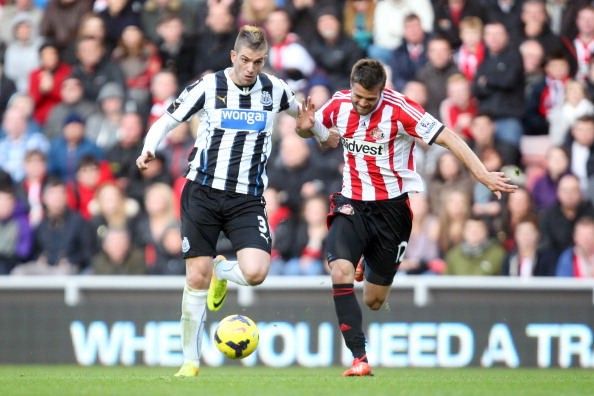 Davide Santon was a regular opponent of Sunderland's during his four years with Newcastle. (Photo: Serena Taylor/Newcastle United via Getty Images)