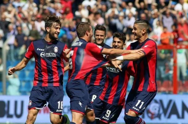 I rossoblù esultano per il gol di Rohden contro l'Udinese di due settimane fa. | calciomercato.com