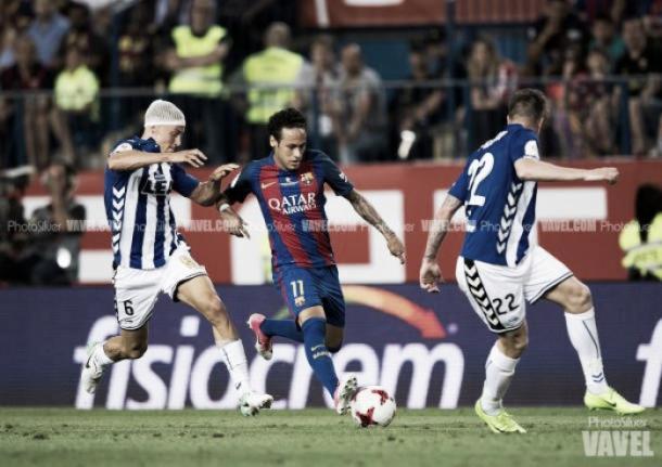 Barça y Alavés disputaron también una final de Copa del Rey. FOTO: Vavel.com