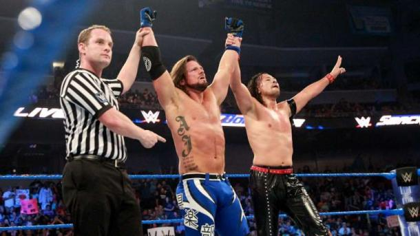 SmackDown boasts a number of top stars (image: sportskeeda)