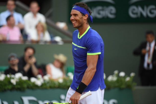 Nadal - Fonte: Roland Garros / Facebook