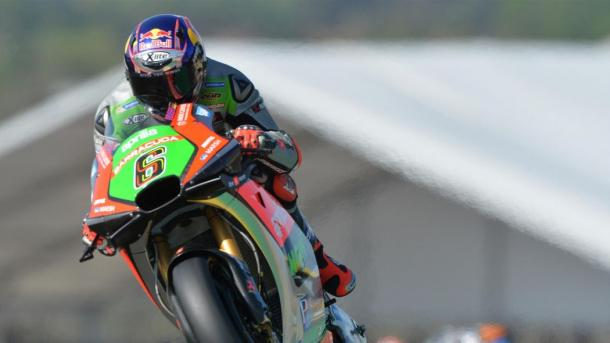 Bradl at the last round of the MotoGP at the Sachsenring, however he missed the race due to concussion during a crash in the warm-up - www.eurosport.de