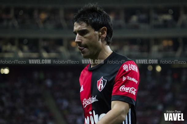 Matías Alustiza fue el máximo goleador del Atlas durante la era José Guadalupe Cruz. / Fuente: Fabián Meza | VAVEL