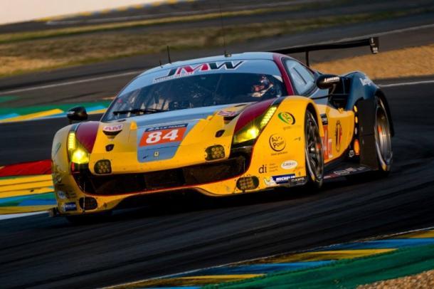 JMW vence na classe GTE-AM. (Foto: Divulgação)