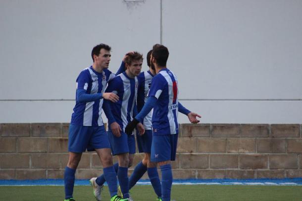 El Izarra volvió a dejar su portería a cero esta jornada frente a la Peña Sport. | Foto: CD Izarra.