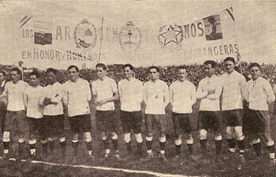 Primeiro título dos argentinos na Copa América, em 1921