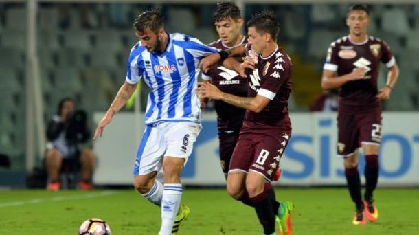 Pescara-Torino 0-0 | Foto: eurosport.it