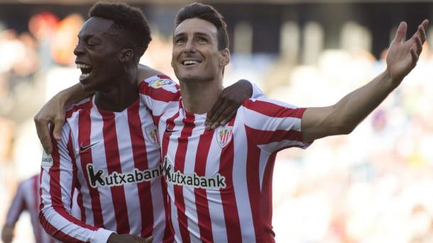 Inaki Williams e Aduriz. | Fonte immagine: Eurosport