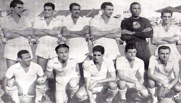 Santos em 1955
